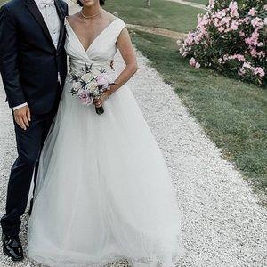 Carolina Herrera wedding dress
